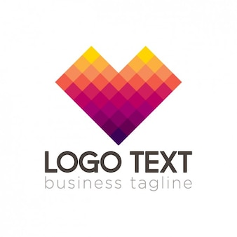 Logotipo corporativo pixel