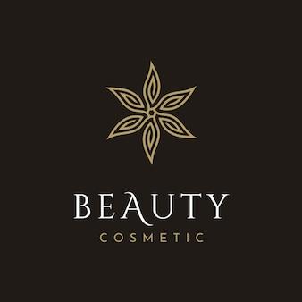 Logotipo cosmético de beleza
