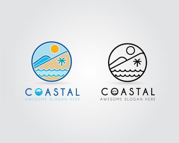 Logotipo costeiro
