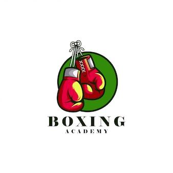Logotipo da academia de boxe