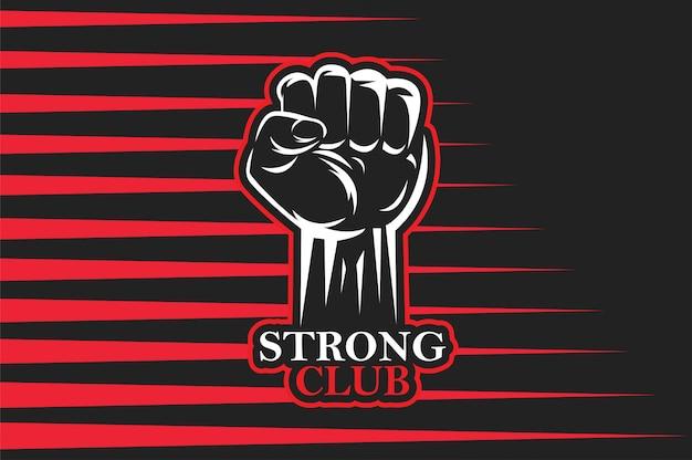 Logotipo da academia de ginástica
