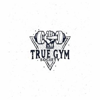 Logotipo da academia
