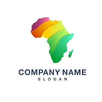Logotipo da áfrica