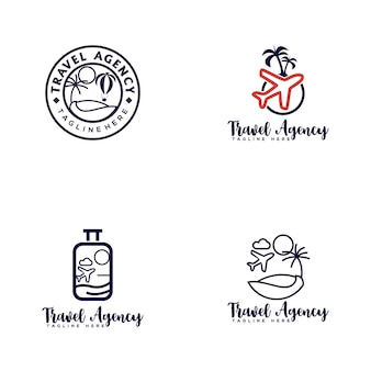 Logotipo da agência de viagens