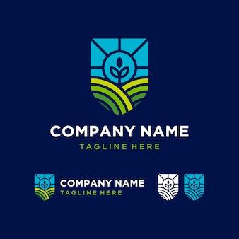Logotipo da agricultura