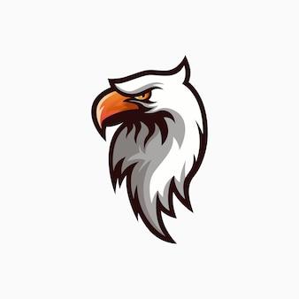 Logotipo da águia branca