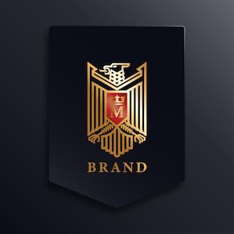 Logotipo da águia dourada