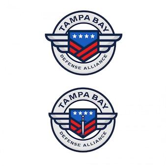 Logotipo da american defense alliance