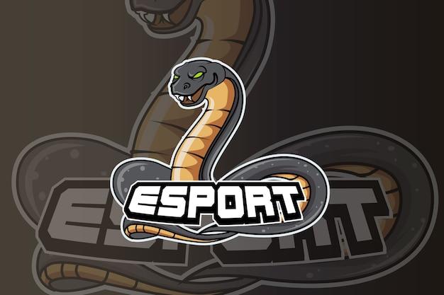 Logotipo da anaconda e sport