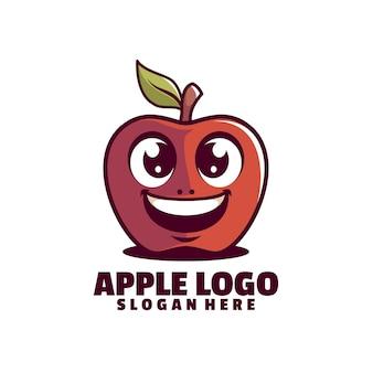 Logotipo da apple smile