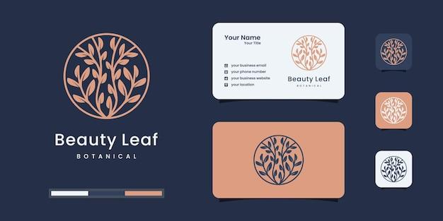 Logotipo da árvore com conceito exclusivo e modelos de design de logotipo de negócios.