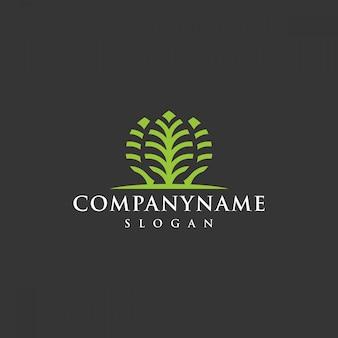 Logotipo da árvore da empresa