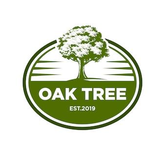Logotipo da árvore de carvalho