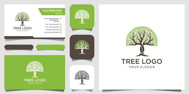 Logotipo da árvore