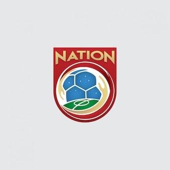 Logotipo da associação de futebol