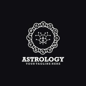 Logotipo da astrologia