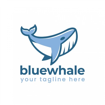 Logotipo da baleia azul
