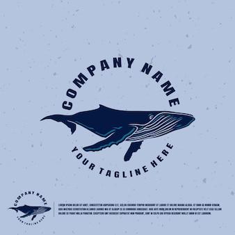 Logotipo da baleia
