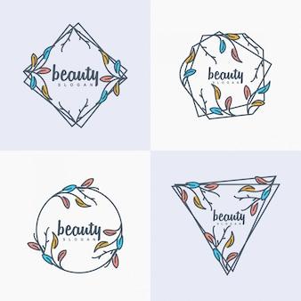 Logotipo da beleza
