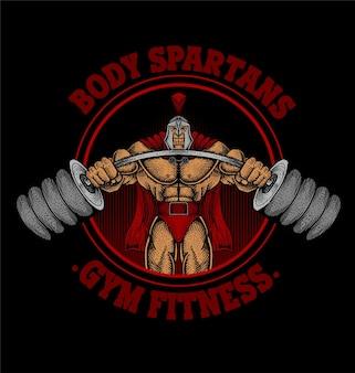 Logotipo da body spartan gym