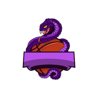 Logotipo da bola da víbora