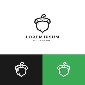 Logotipo da bolota