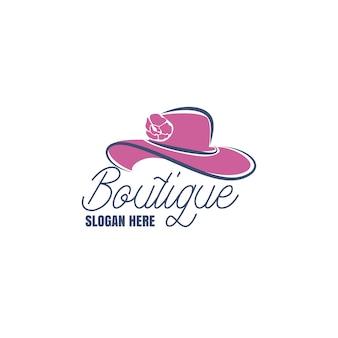 Logotipo da boutique de moda