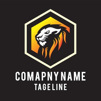 Logotipo da cabeça do leão
