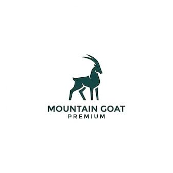 Logotipo da cabra da montanha
