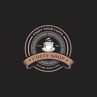 Logotipo da cafeteria