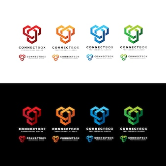 Logotipo da caixa de conexão