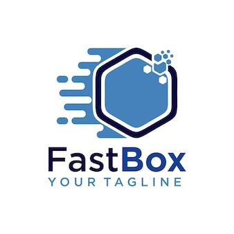 Logotipo da caixa rápida