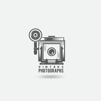 Logotipo da câmera retro