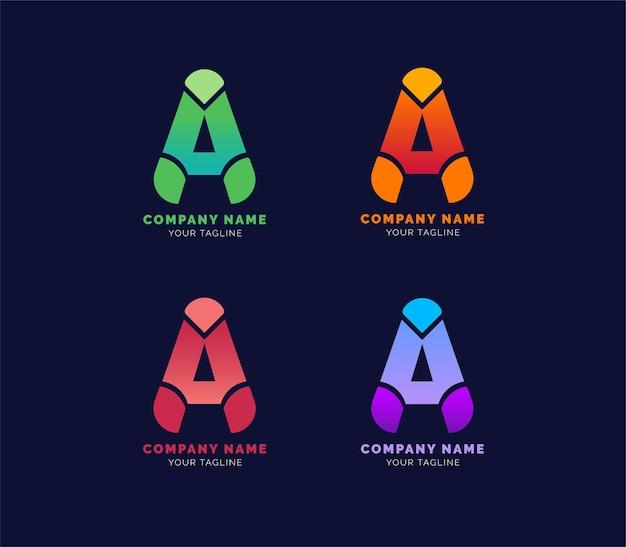 Logotipo da carta ou logotipo corporativo ou logotipo imobiliário