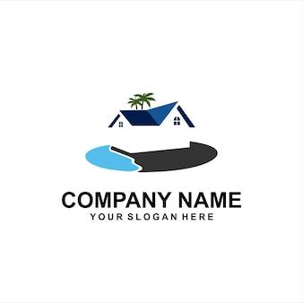Logotipo da casa da ilha