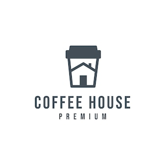 Logotipo da casa de café