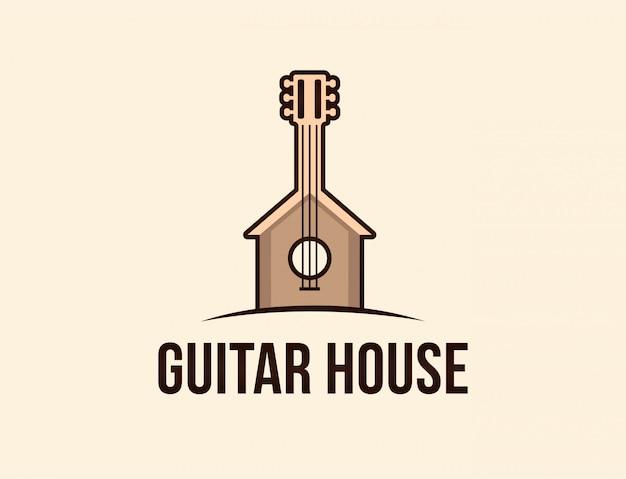 Logotipo da casa de guitarra