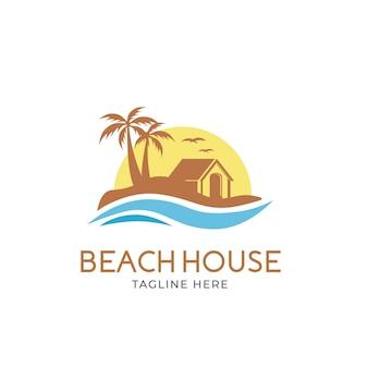 Logotipo da casa de praia