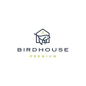 Logotipo da casa do pássaro