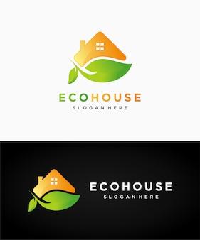 Logotipo da casa ecológica