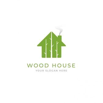 Logotipo da casa na árvore