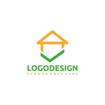 Logotipo da casa segura