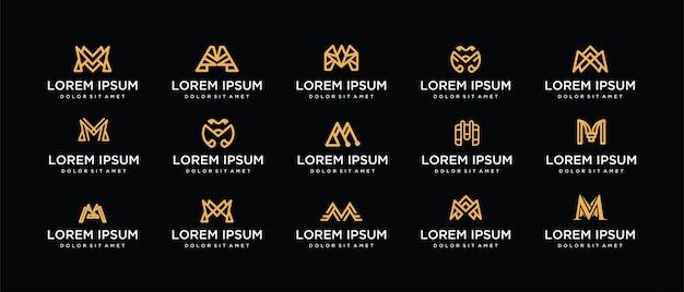 Logotipo da cenografia, letra m