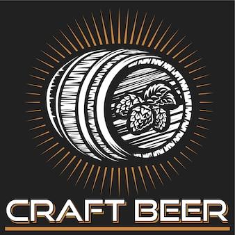 Logotipo da cerveja artesanal