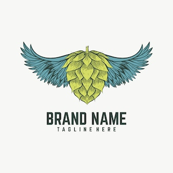Logotipo da cerveja de asa