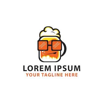 Logotipo da cerveja geek