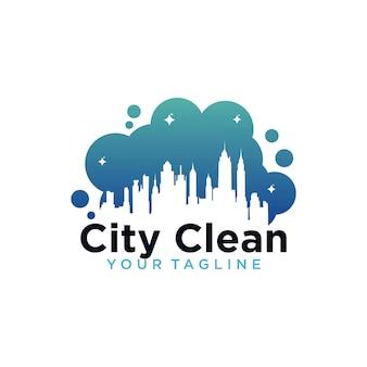Logotipo da city clean