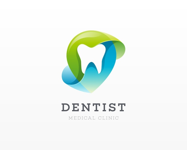 Logotipo da clínica dentária