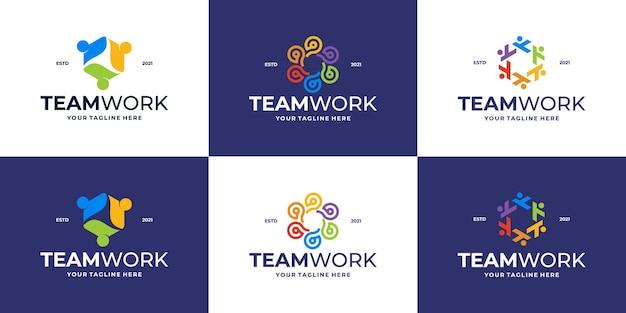 Logotipo da clínica médica ou logotipo da comunidade