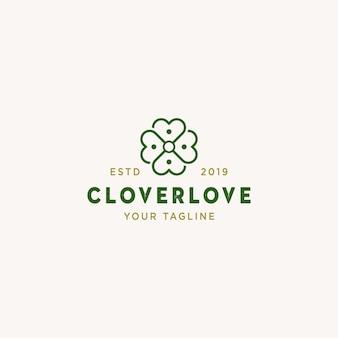 Logotipo da cloverlove